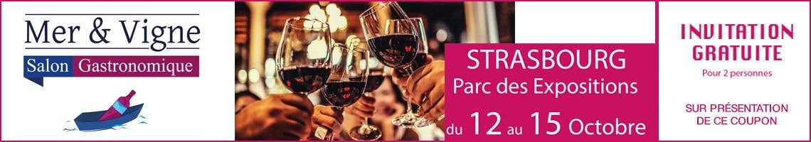 Salon Mer & Vignes Strasbourg 2018