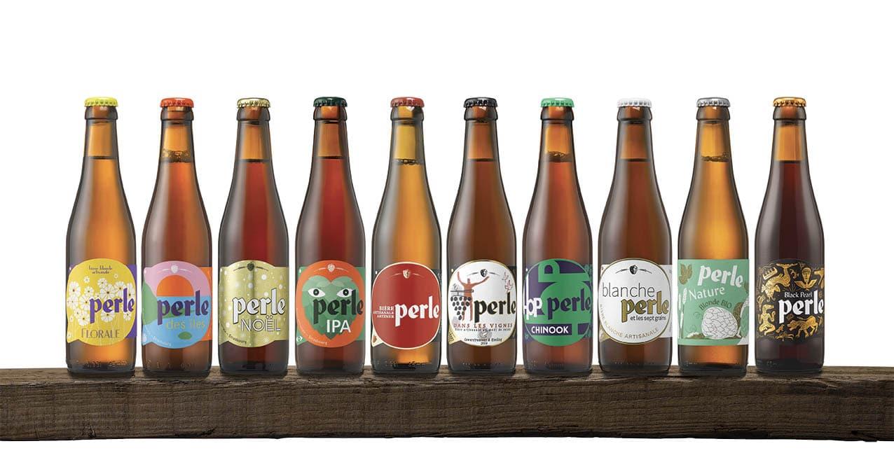 Bières Perle gamme