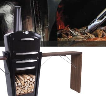 Gooker et bar : barbecue grill plancha