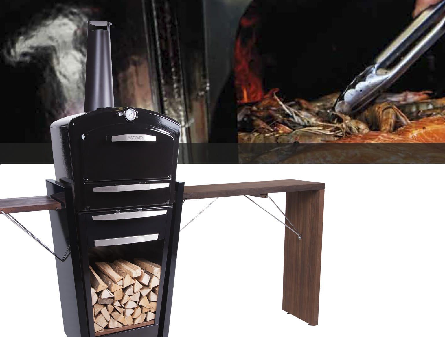 Gooker et bar : barbecue grill plancha