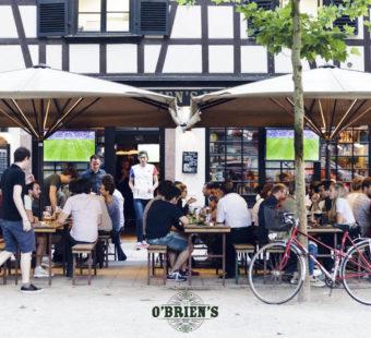 Terrasse O'Brien's Irish Pub Strasbourg