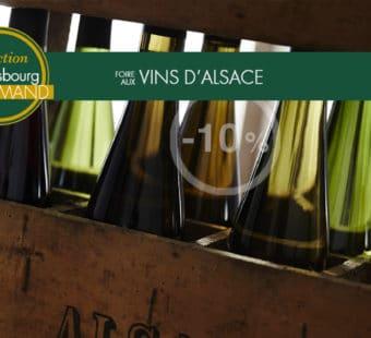 Foire aux Vins d'Alsace sélection Strasbourg Gourmand promo